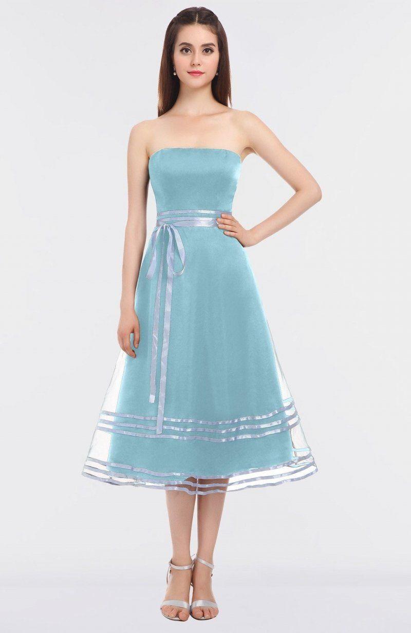 Aqua Prom Dress Ball Gown Sleeveless Bateau Zip up Mature Sash ...
