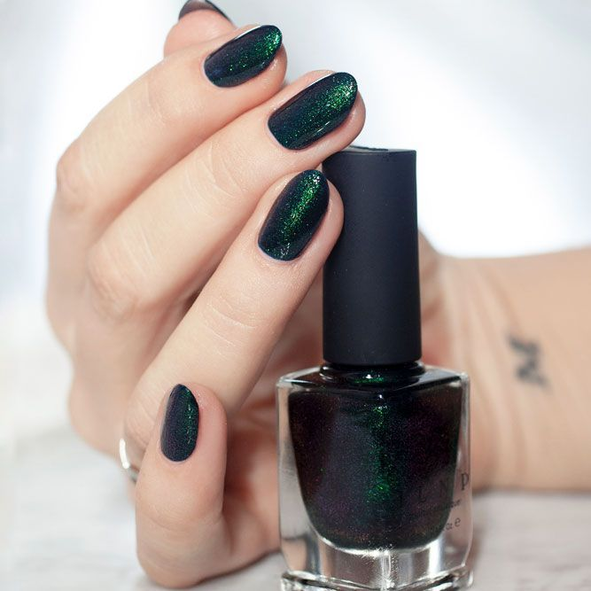 30 Sensational Winter Nail Colors to Warm Up Your Hands | Winter ...