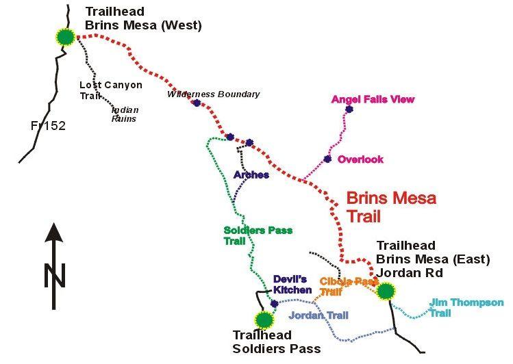 Brins Mesa Trail #119 • Hiking • Arizona • HikeArizona.COM | on
