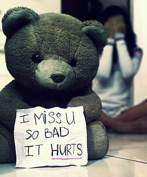 Sad Quotes About Love: Miss You So Bad IT Hurts – Missing You More