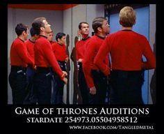 star trek red shirt game of thrones meme