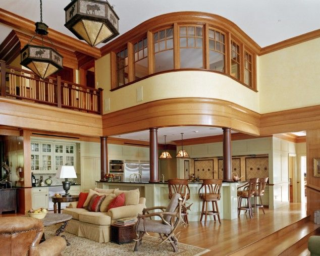 Case di lusso saloni pinterest for Case personalizzate in stile ranch