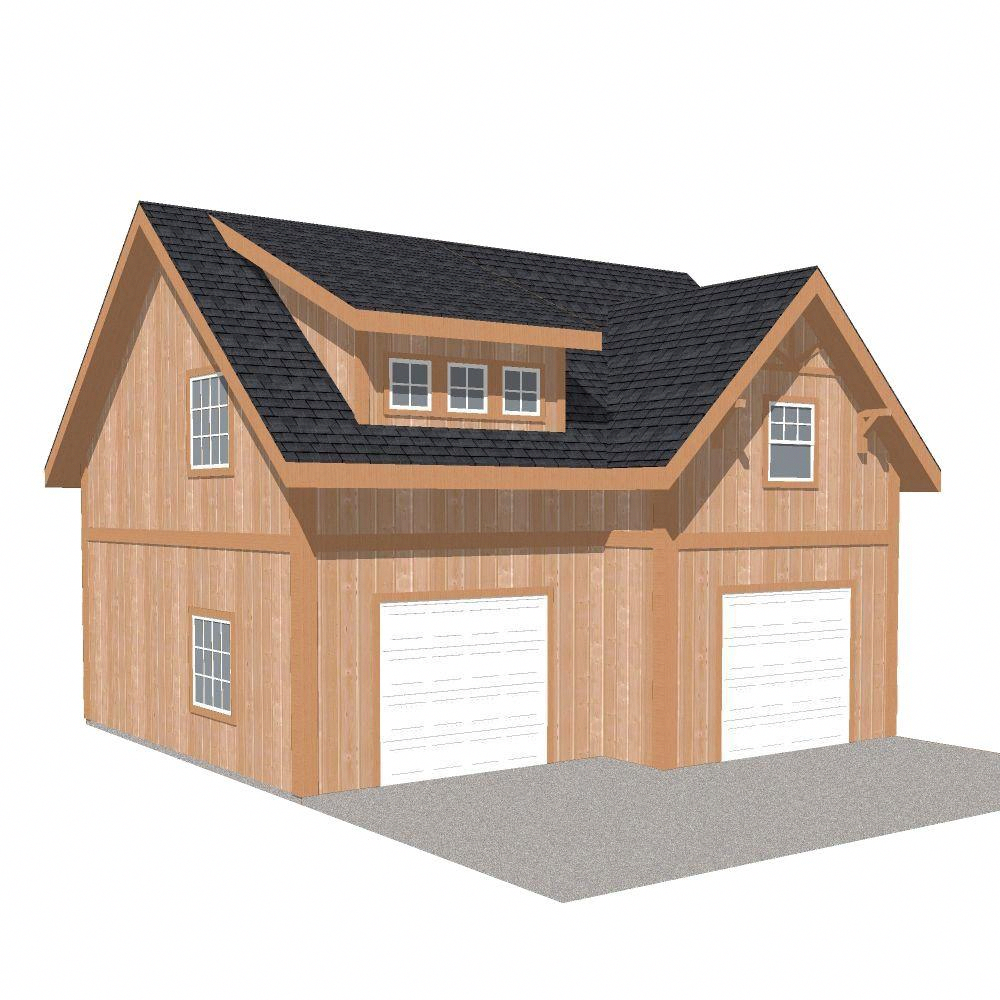 This Kind Of Garage Doors Colors Is The Most Inspiring And First Class Idea Garagedoorscolors In 2020 Garage Loft Wood Garage Kits Garage Packages