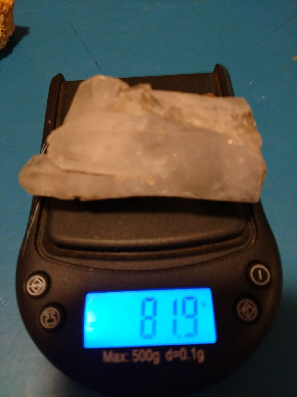 Clear quartz 82 g phantom crystal clear quartz crystals