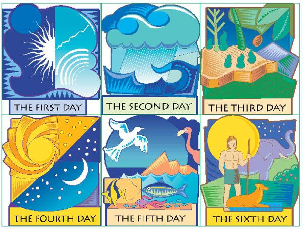 Free Days of Creation Lesson Plan & Clip Art | Days of ...