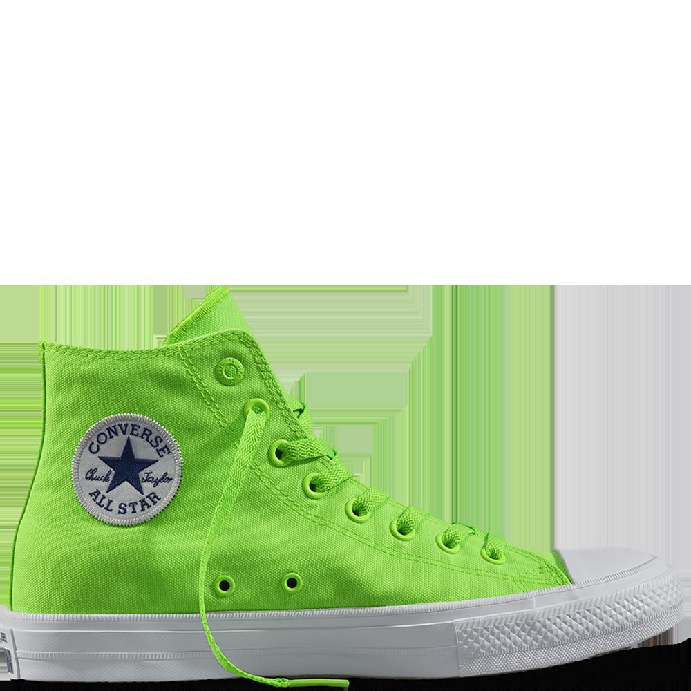 Chuck II Neon Gecko vert green gecko/navy/white