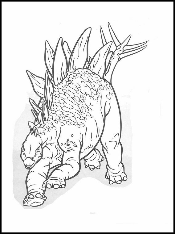 Jurassic World 8 Printable coloring pages for kids ...