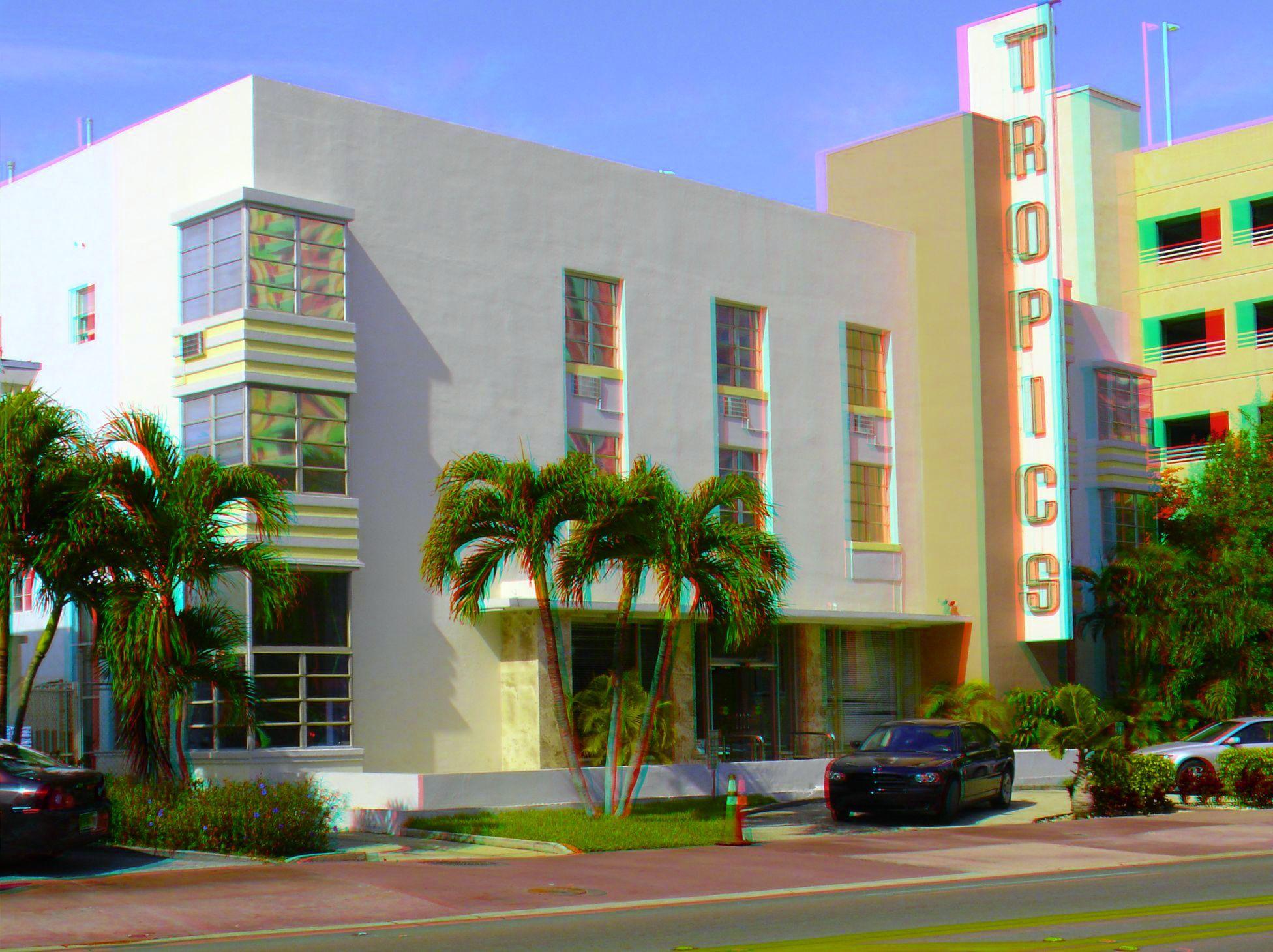 1550 Collins Avenue The Tropics Hotel Built 1939 Architect Donald G Smith Style Art Deco