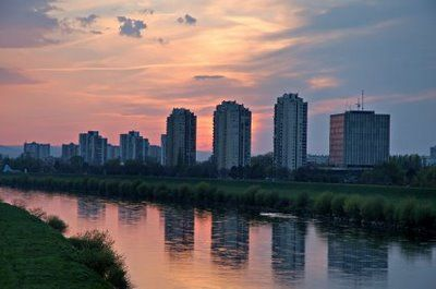 The City Is Situated On The Banks Of The Sava River Zagreb Zagreb Croatia Croatia