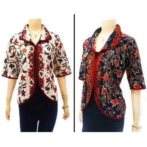 Blus Batik Bb017 Baju Batik Wanita Modern Blouse Models Blouse