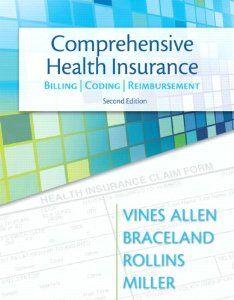 Comprehensive Health Insurance Billing Coding Reimbursement