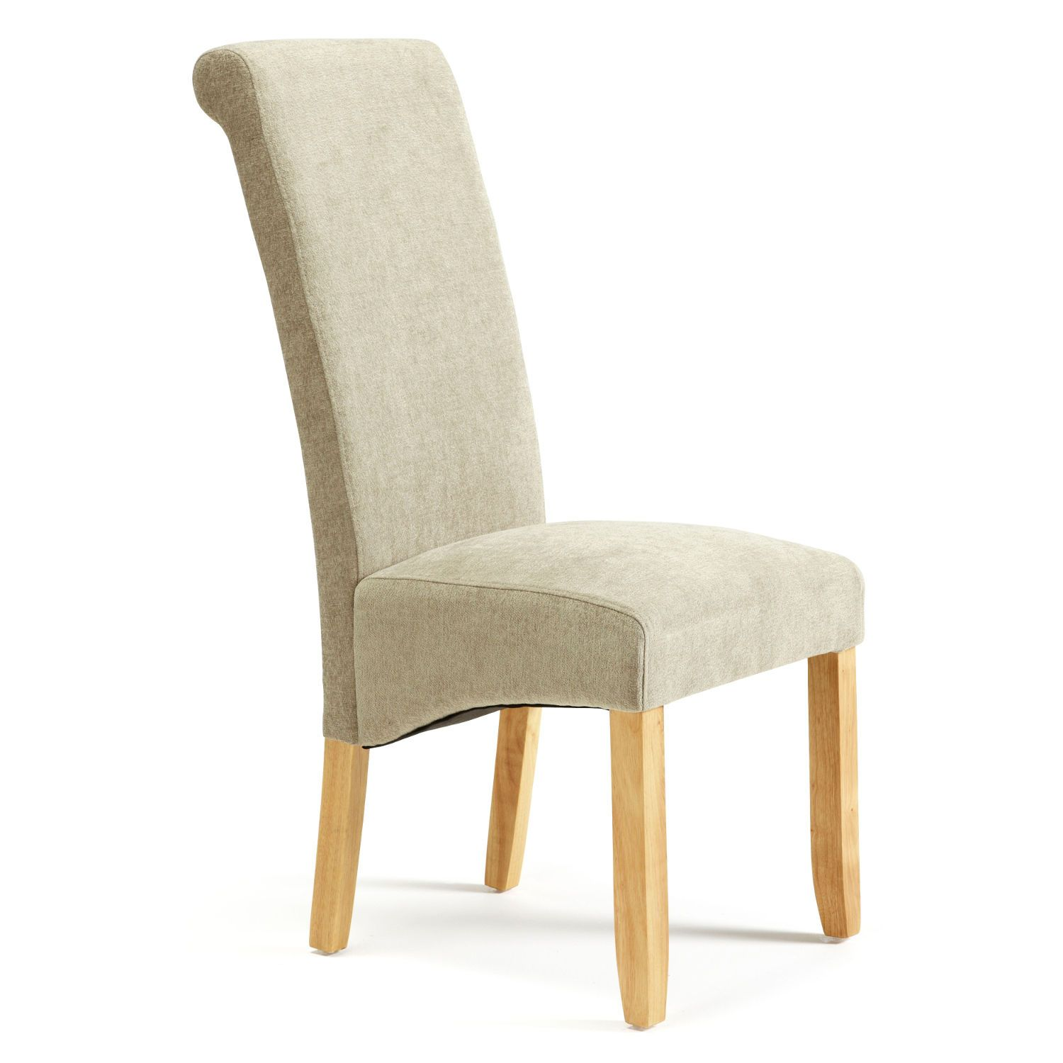 Kingston Fabric Dining Chair Next Day Delivery From Worlds Everything