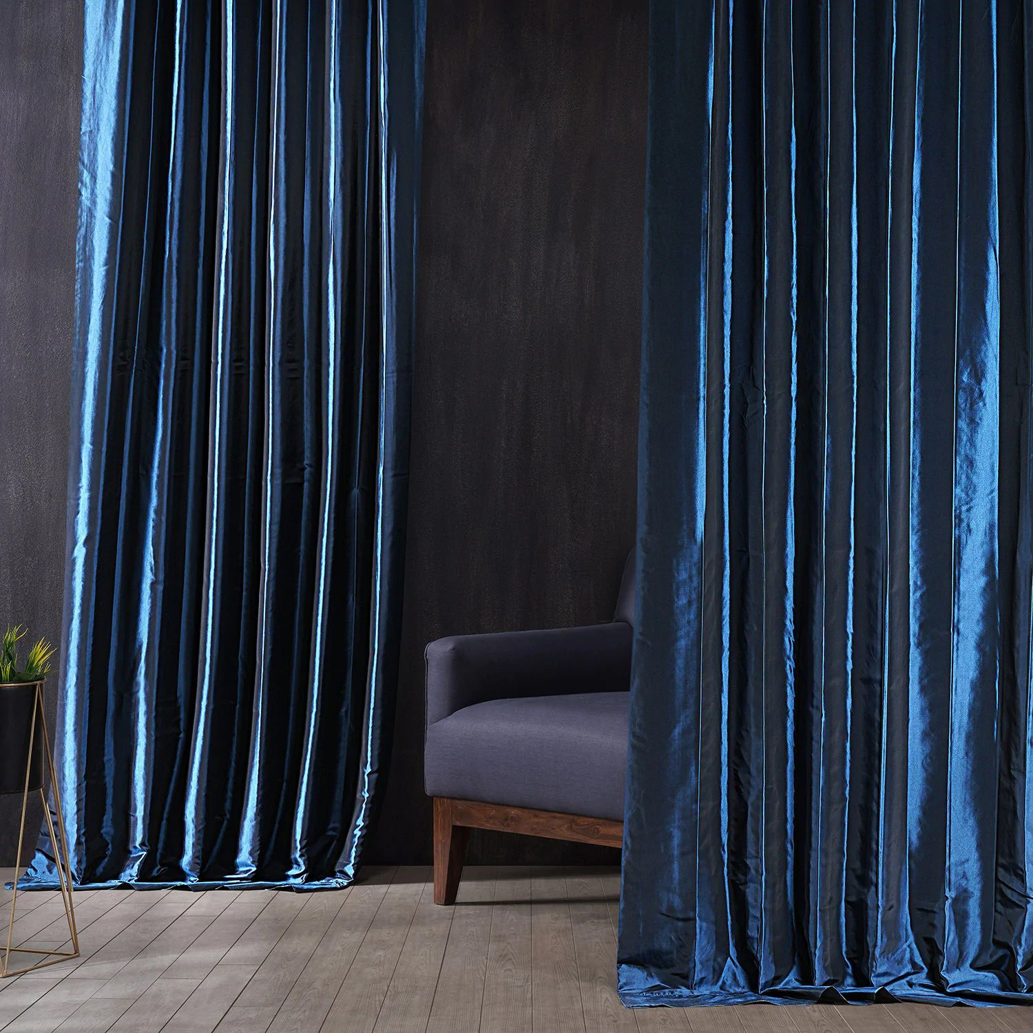 Bring Hotel Quality Blackout Curtains Home With Style Our Ultra Smooth Faux Silk Taffeta Curtains Bring A Modern In 2021 Half Price Drapes Curtains Blackout Curtains