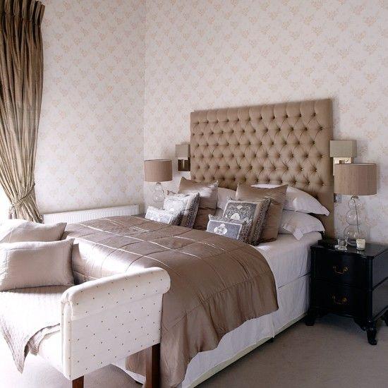 Wohnideen Country glamorous hotel stil schlafzimmer mit übergroßen wohnideen living