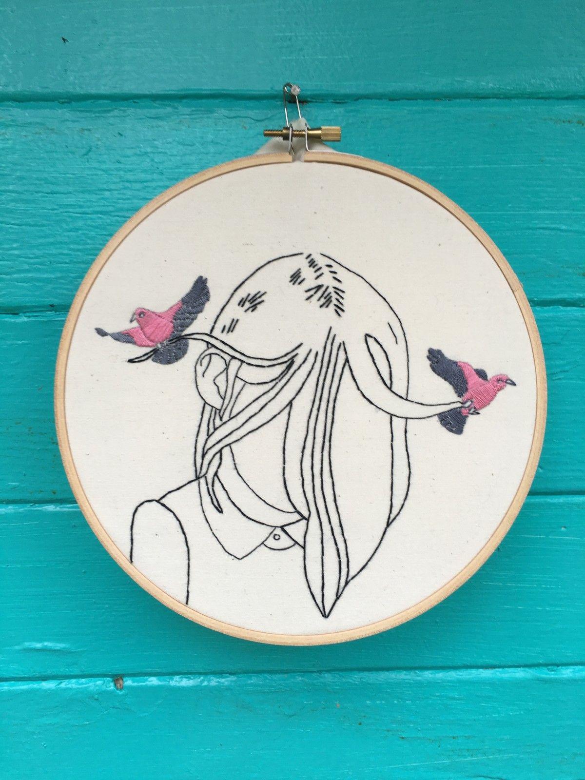 Odd Ana Stitch Portland Or Art Embroidery Patterns