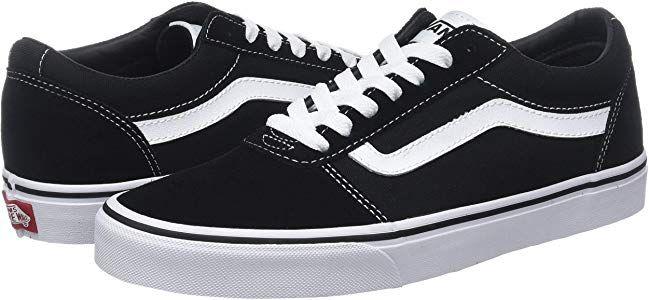 Vans Damen Ward Suede Canvas Sneaker Schwarz Black White Iju 42 Eu Amazon De Schuhe Handtaschen Vans Damen Sneaker Vans
