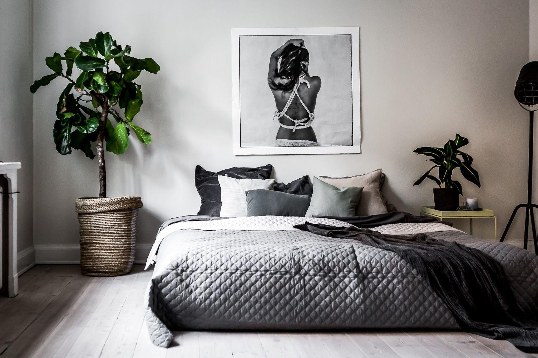 Slaapkamer Interieur Grijs : Henrik nero slaapkamer slaapkamer interieur en