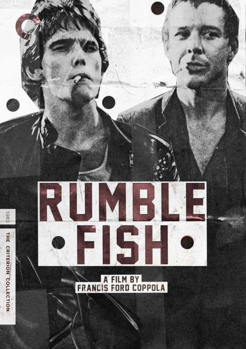 Rumble Fish- S.E. hinton Author of the outsiders.... haven't seen the movie...and I want to so badly