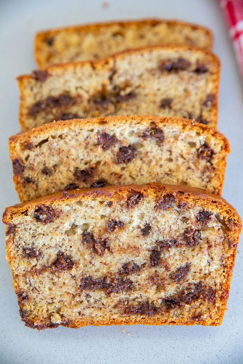 Chocolate Chip Sour Cream Banana Bread Recipe The Kitchen Magpie In 2020 Banana Bread Recipes Sour Cream Banana Bread Sour Cream Recipes
