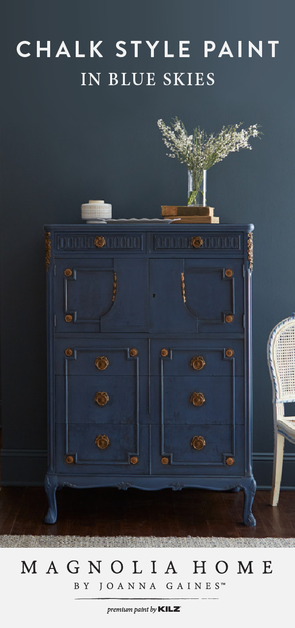 Blue Skies Chalk Style Paint, Is Painted Furniture Going Out Of Style