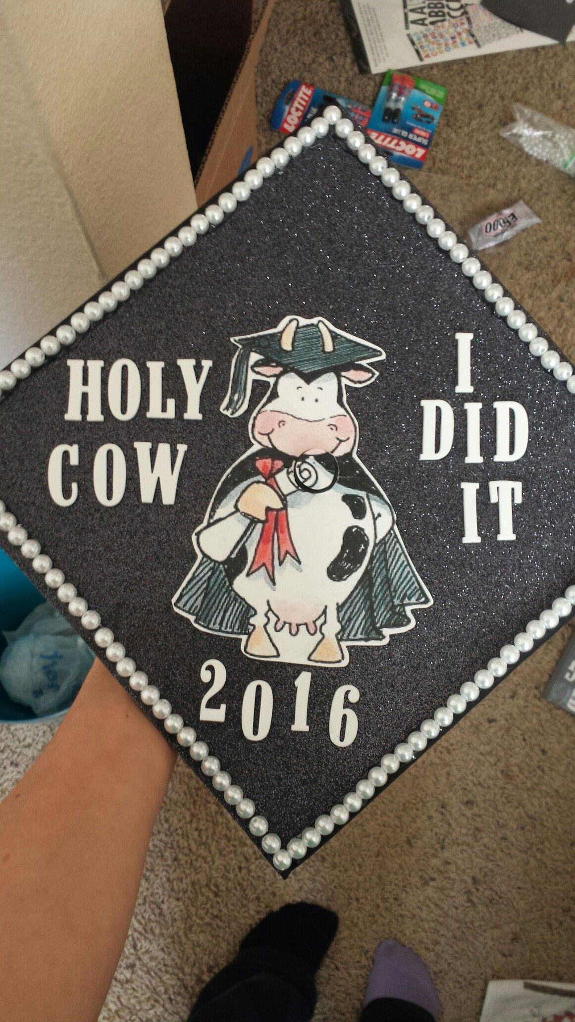 My Cap For Graduation Tomorrow So Excited To Start My Job