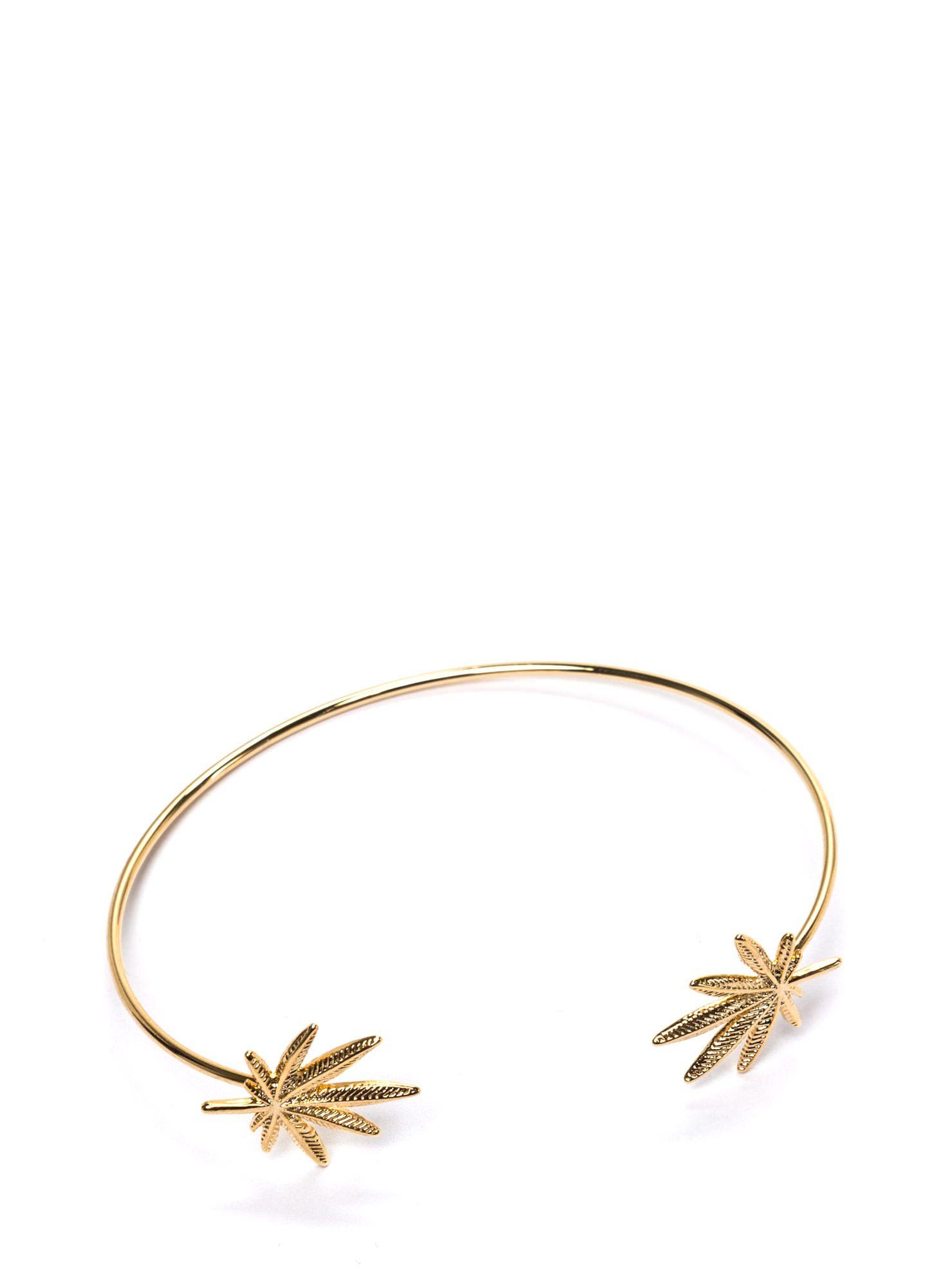 High Times Charm Bracelet GOLD SILVER - GoJane.com