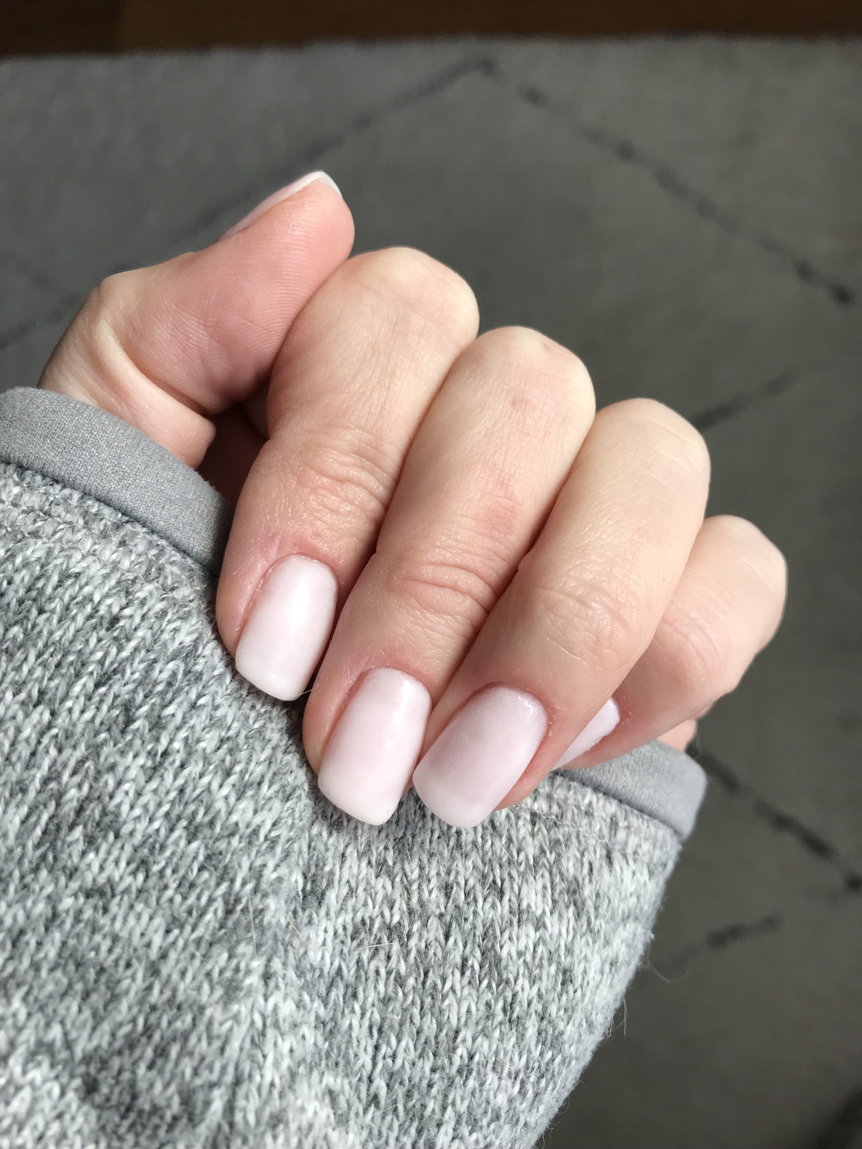 Sns Lv30 Les Mis Is The Perfect Milky White Pink Dipping Powder Nails Sns Powder Nails Red Nails White Nails