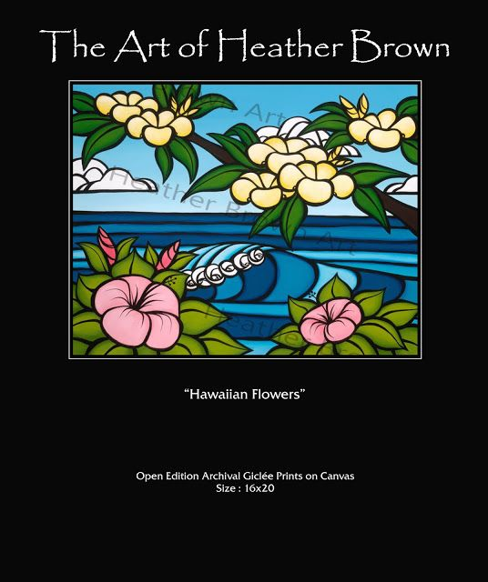 The Surf Art of Heather Brown: Hawaii Art of Heather Brown. New Limited Edition R...