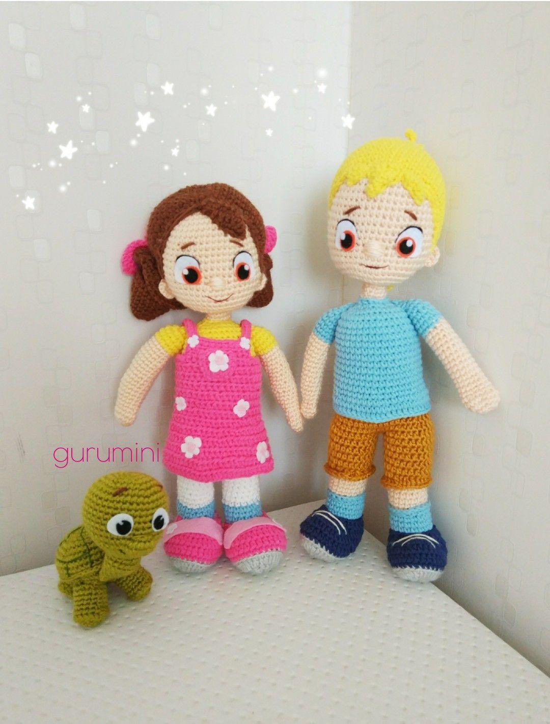 Amigurumi Baba Parmak Yapılışı (Crochet TOY Finger Family ... | 1421x1080