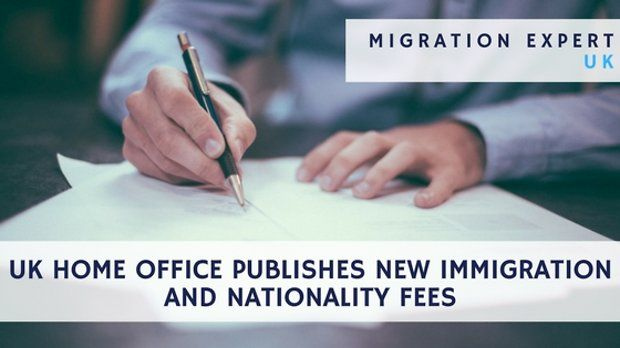 UK Home Office publishes new immigration and nationality