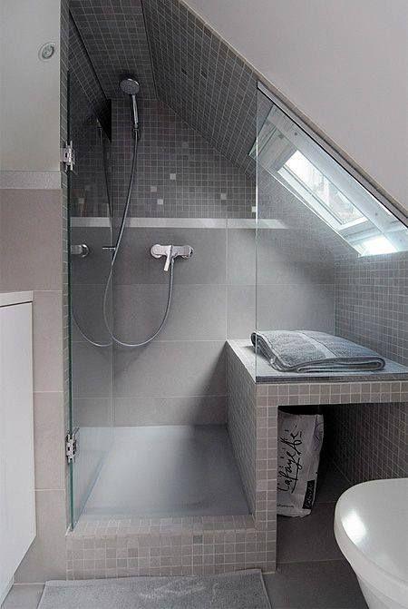 35 Functional Attic Bathroom Ideas Bagno Rimodellare Camera