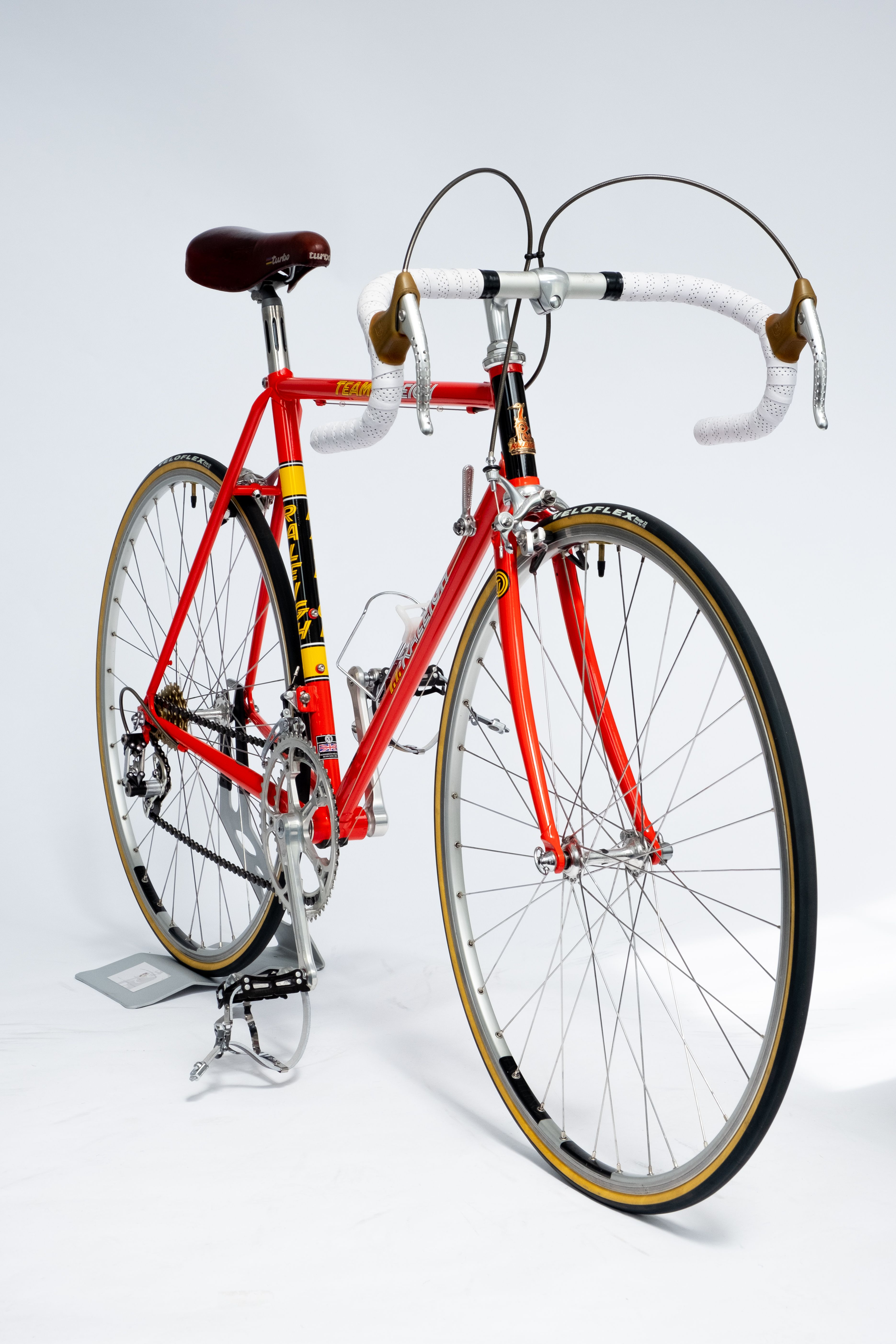 Retro 1980 Ti Raleigh Campagnolo vintage cycling jersey