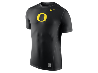 Nike College Hypercool 3.0 Fitted (Oregon) Men s Training Shirt ... 99c099c9d