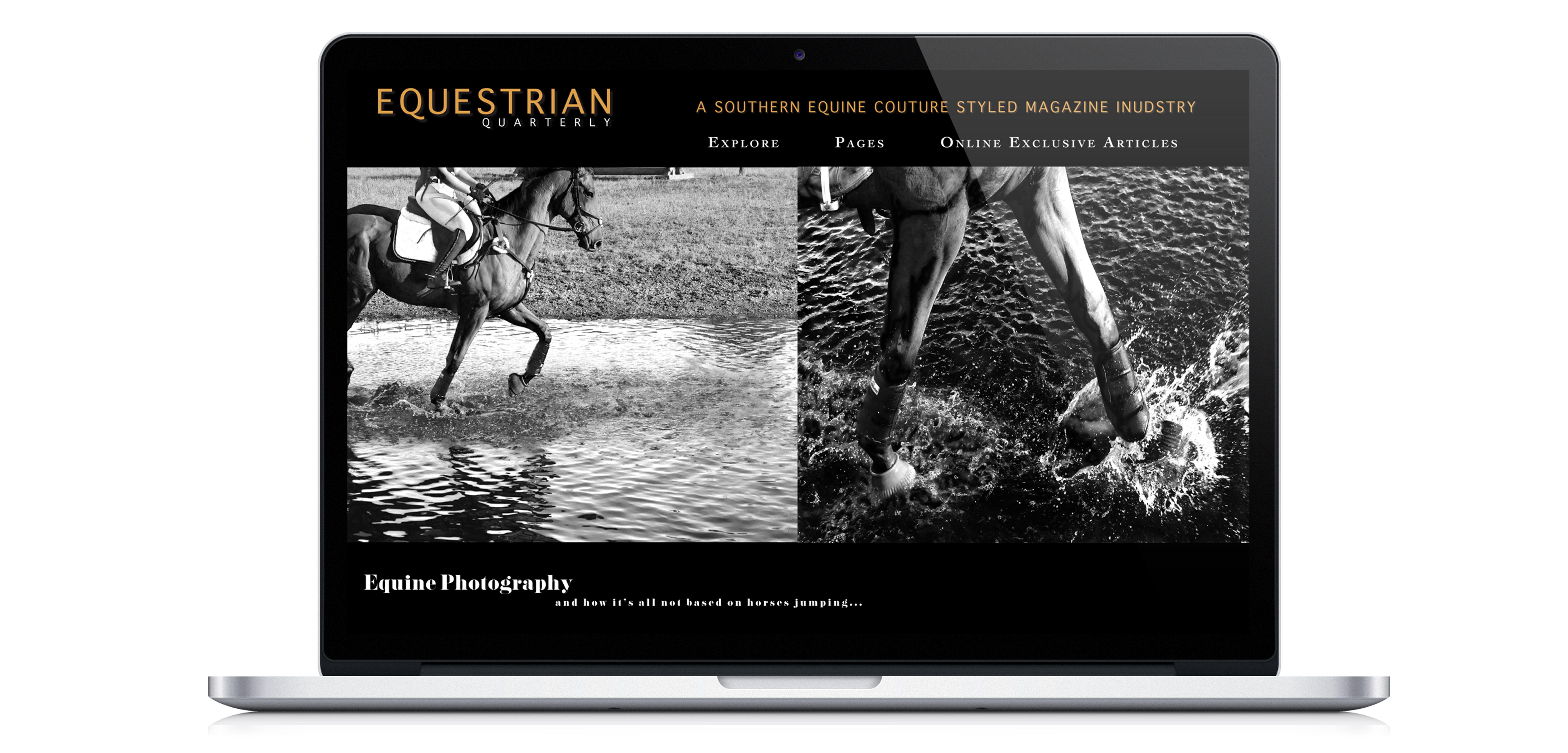 magazine layout online version designed by lindsey rowland