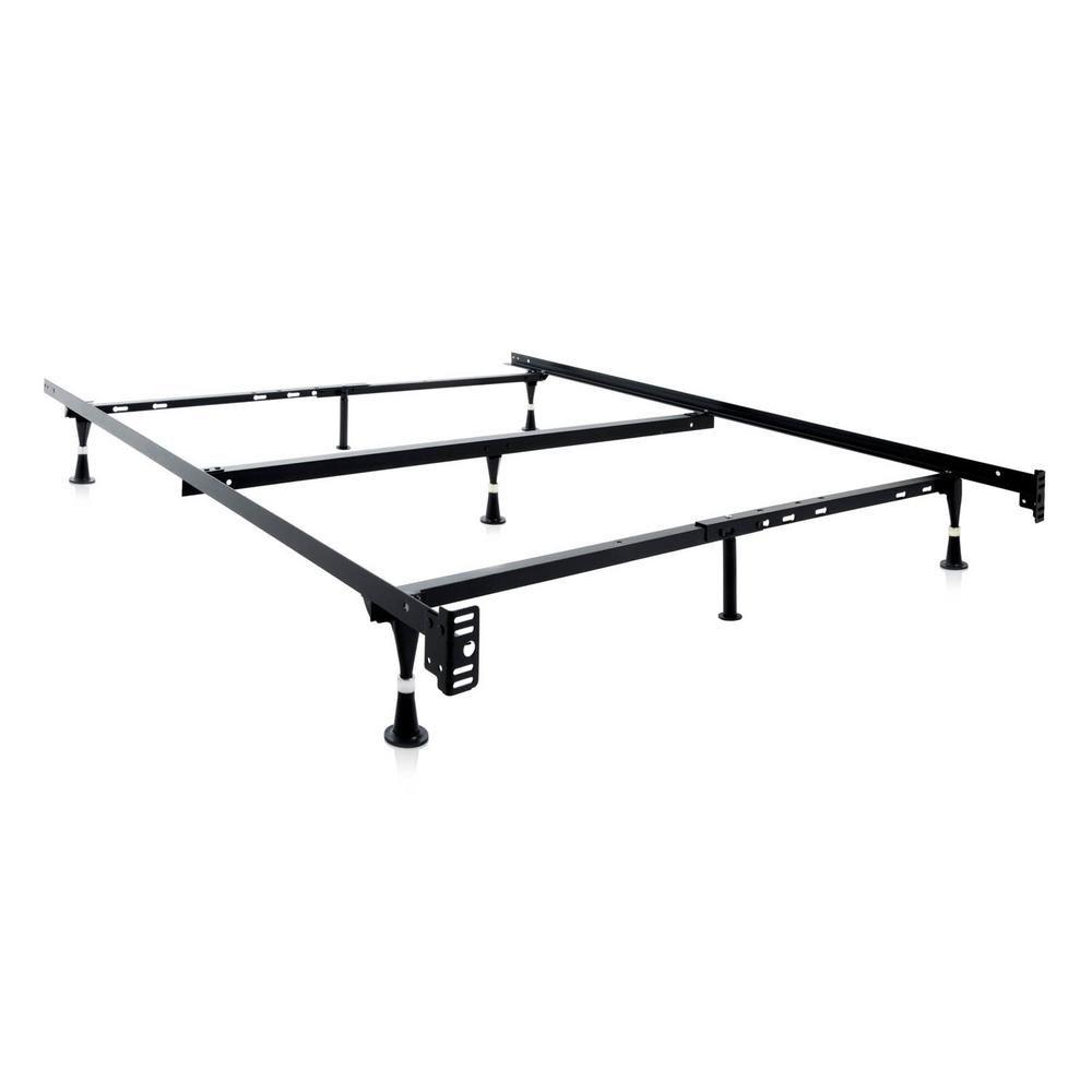 Structures Adjustable Metal Bed Frame St5033gl Bed Frame Wheels Metal Beds Adjustable Bed Frame