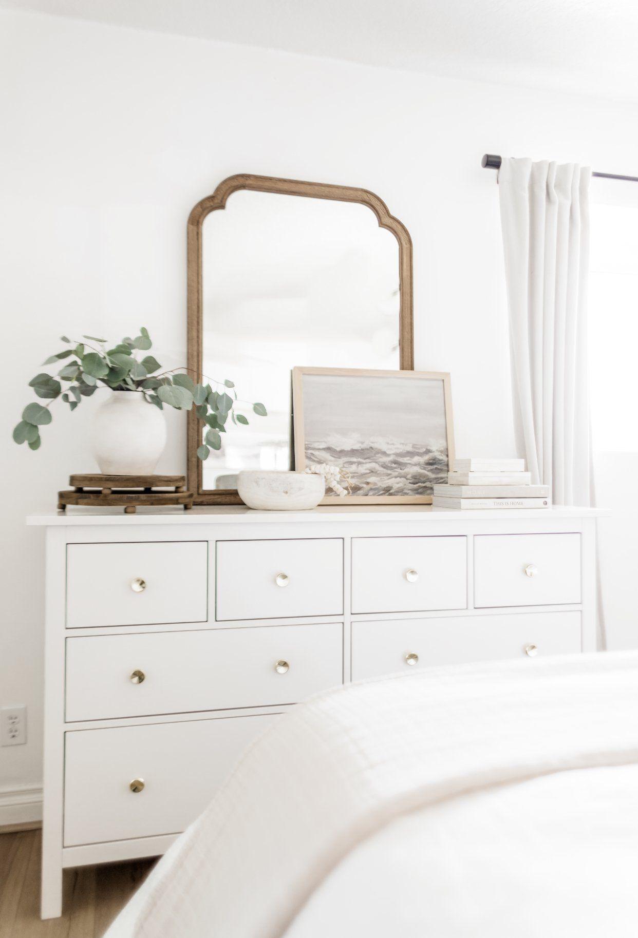 28++ Farmhouse bedroom dresser decor ideas