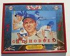 Baseball Memorabillia Gil Hodges Seagrams 7 mirrored Framed Picture - Baseball, Framed, Hodges, Memorabillia, Mirrored, PICTURE, Seagrams