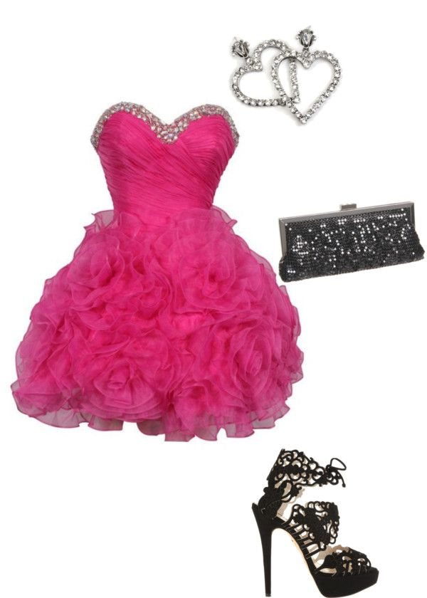 """""""grad"""" by annabratz ❤ liked on Polyvore"""