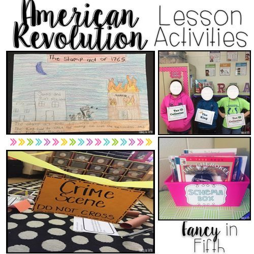 Photo of The American Revolution in Upper Grades {Part One}