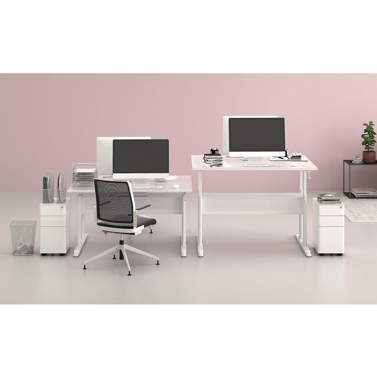 Incredible Amazon Com Devaise Adjustable Height Standing Desk 55 Home Interior And Landscaping Ponolsignezvosmurscom