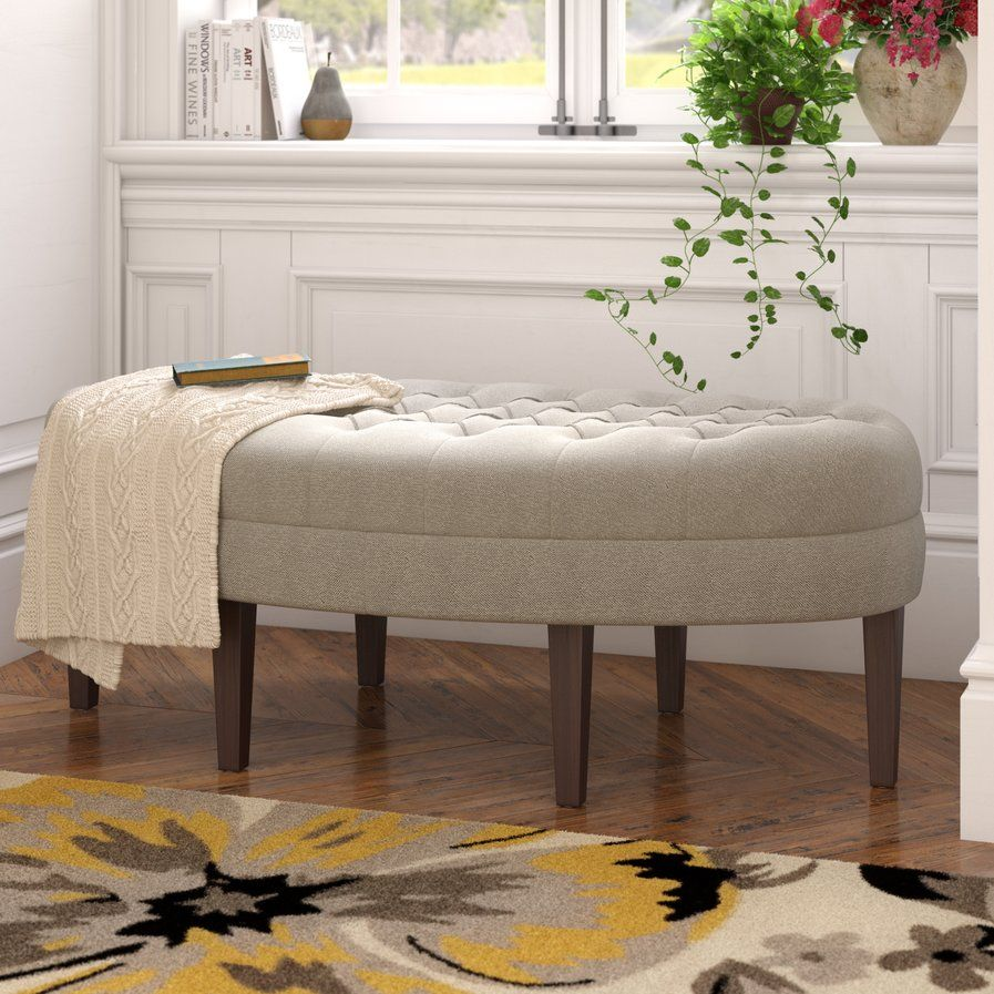 Louisa Tufted Cocktail Ottoman | FURNITURE | Pinterest