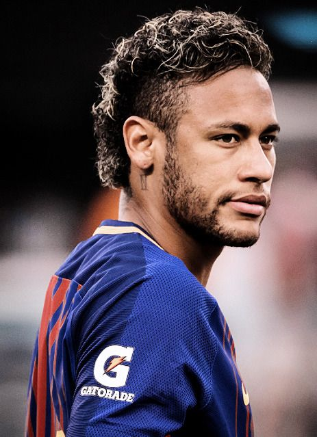 """e9c65597bec """""""" Neymar Jr. with the new Rakuten jersey at the start of the International  Champions Cup match between FC Barcelona and Juventus at the MetLife  Stadium on ..."""