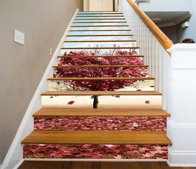 Best 3D Heart Shape Tree 1111 Stair Risers Stair Risers 400 x 300