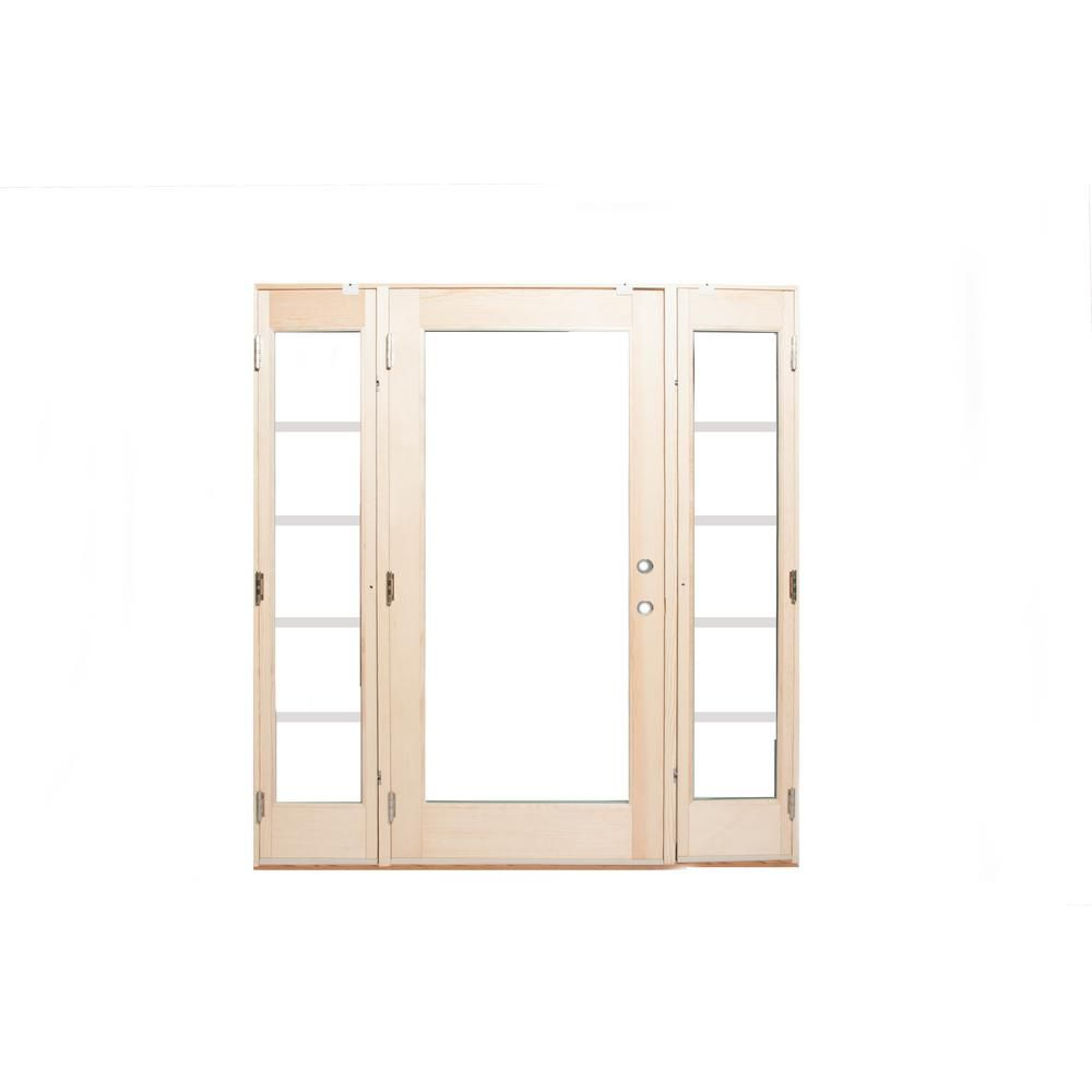 Ashworth 72 in. x 80 in. Pro Series White 10 Lite Painted Pine ...
