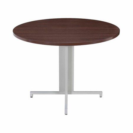 Regency Seating Inch Round Conference Table Brown Round - 42 inch round office table