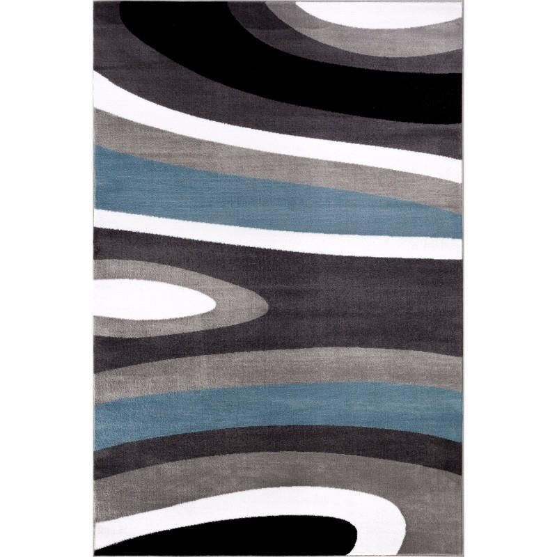 Large Modern Abstract Rug With Images Living Room Carpet