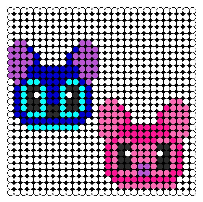 Stitch And Angel Kandi Pattern Stitch And Angel Hama Beads Design Perler Bead Patterns