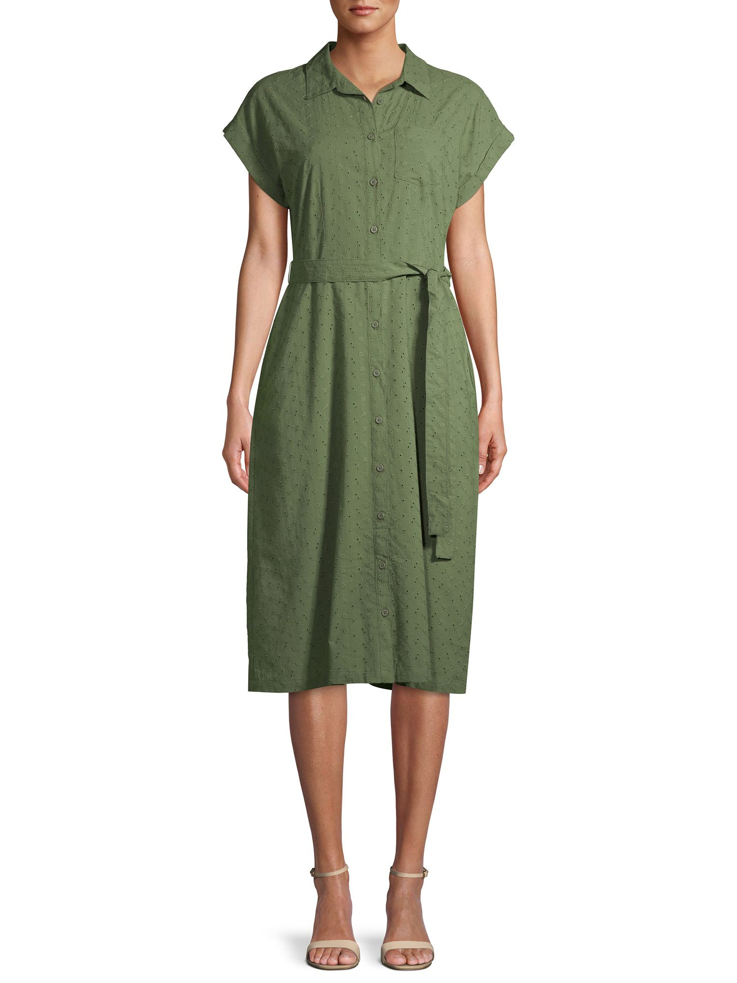 46+ Belted midi shirt dress trends