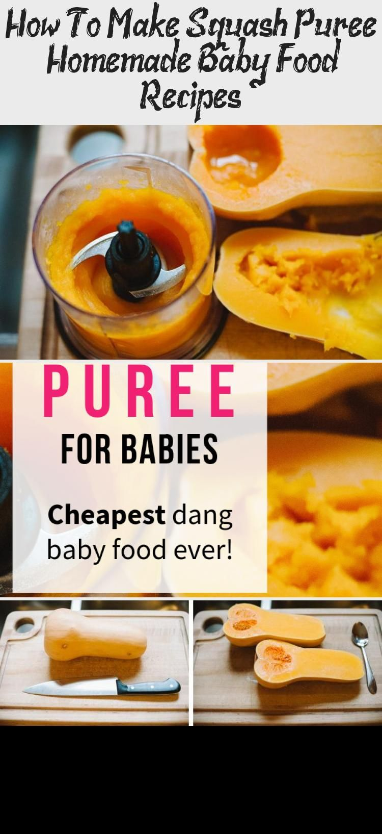 How to make squash puree homemade baby food recipes