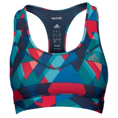 1b30722ec6 adidas Techfit Sports Bra - Women s